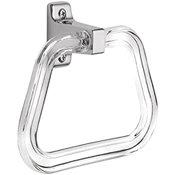 Good Taymor 01 303 Lucite Towel Ring Amp Polished Chrome