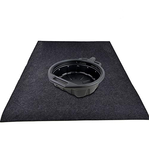 - KALASONEER Oil Spill Mat,Absorbent Oil Mat Reusable Washable,Contains Liquids, Protects Driveway Surface,Garage Or Shop,Parking,Floor(36inches x 72inches)