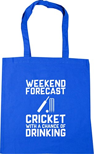 Cornflower Hippowarehouse 10 Con Forecast nbsp;cm Bolsa Potable Oportunidad Compras Tote De Una nbsp;litros 42 X38 nbsp;cm Playa Cricket Weekend Blue arrwUt
