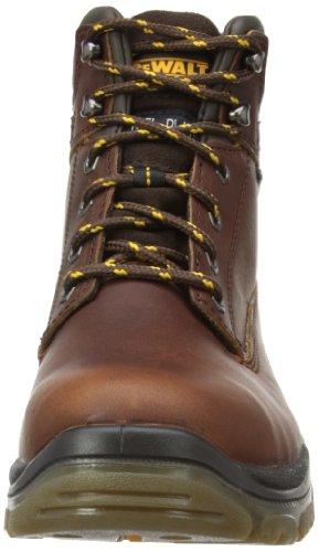 Dewalt TITANIUM - Calzature di protezione per gli uomini, di colore giallo (miele), taglia 42 Marrone (Tan)