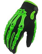 madbike full finger skeleton motocross riding gloves for motorcycle
