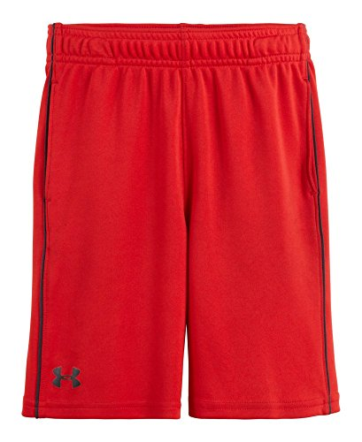 Under Armour Baby Boys' Zinger Knit Short Red, Risk Red, 18 Months