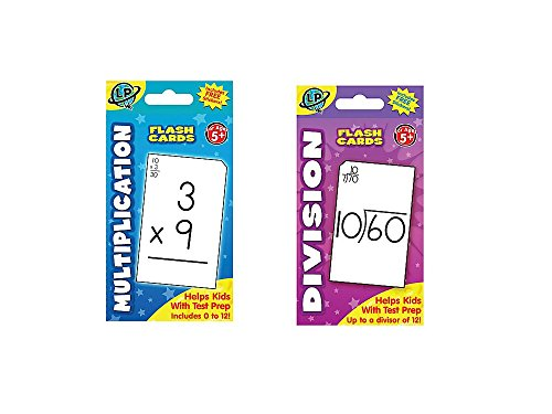 - Two (2) Sets FLASH CARDS - Multiplication & Division - EARLY Learning - Math Skill Aids - FLASH Cards - TEACHER Classroom