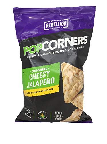 Popcorners All Natural Popped Corn Chips Gluten Free Cheesy Jalapeno --  (Popcorner Jalapeno)