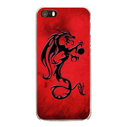 """Disagu Design Case Coque pour Apple iPhone SE Housse etui coque pochette """"Drachen"""""""