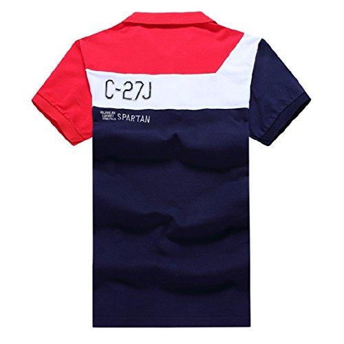 メンズ ポロシャツ 半袖 Tシャツカジュアル 紳士ポーツゴルフ シャツ ゆったり リラックス 着やすい すぐ着れる らく 気持ち良い