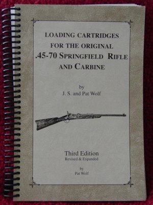 - Loading cartridges for the original .45-70 Springfield rifle and carbine