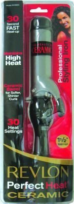 Price comparison product image Revlon Perfect Heat Curling Iron 1 In. Boxed