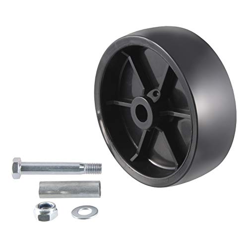 CURT 28912 6-Inch Replacement Boat Trailer Jack Wheel