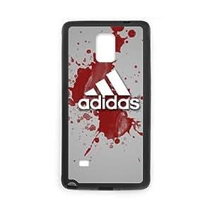 adidas 7 Samsung Galaxy Note 4 Cell Phone Case Black yyfD-051591