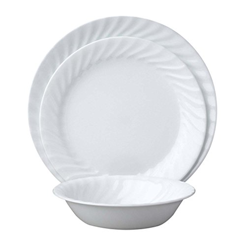 Corelle Enhancements 18-Piece Dinnerware Set, Service for 6