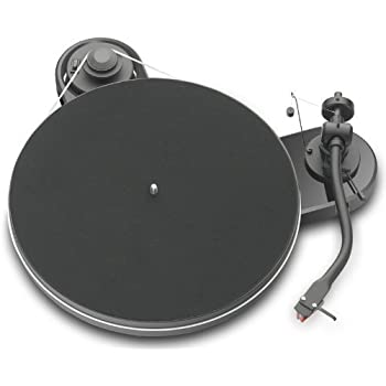 Pro-Ject RM 1.3 Turntable - High Gloss Black with Pearl Cartridge