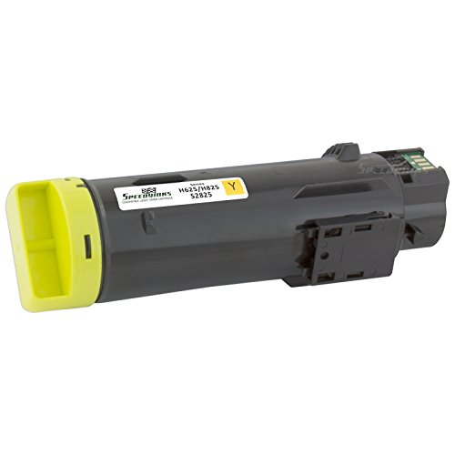 Speedy Inks - Compatible Yellow Toner Cartridge 3P7C4 for Dell H625/H825 Laser Printers for use in Dell H625cdw,Dell H825cdw,Dell S2825cdn