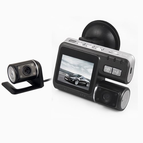 HD 720P Dual Lens Dashboard Car vehicle Camera Video Recorder DVR CAM G-sensor. My KN (HD 720P Dual Lens Dashboard Car vehicle Camera Video Recorder DVR CAM G-sensor) (A/v Recorder Dvr Camera)