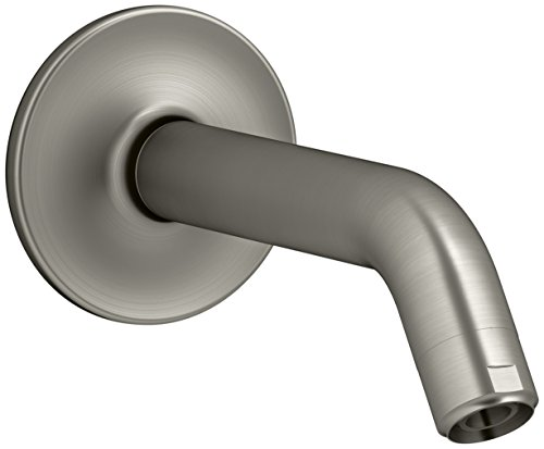 KOHLER K-933-BN Purist Shower Arm and Flange, Vibrant Brushed Nickel