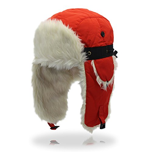 Man&Y Outdoor Winter Thickening Waterproof Material Adjustable Couple Ski Caps Warm Earmuffs Hat for Men Women (Color : 4, Size : M)