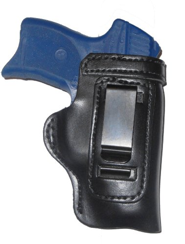 "Ruger GP100 3"" Leather Gun Holster Pro Carry HD Right Hand IWB Black"