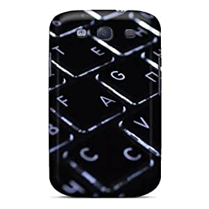 Durable Protector Case Cover With Macbook Keyboard Hot Design For Galaxy S3