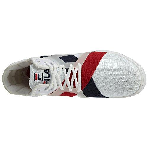 17 The sportive Fila White Fila Scarpe Fila Red Marina Bianco cage Rosso 1BM00026125 Navy AfxqwEw