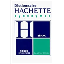 DICTIONNAIRE DES SYNONYMES (POCHE)