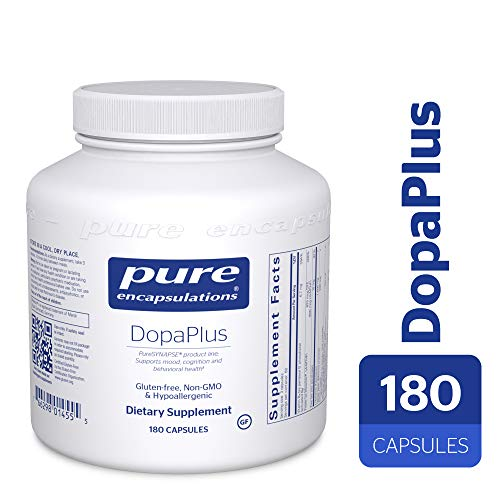 Pure Encapsulations - DopaPlus - PureSYNAPSE Product Line - Comprehensive Dopamine Support Supplement* - 180 Capsules