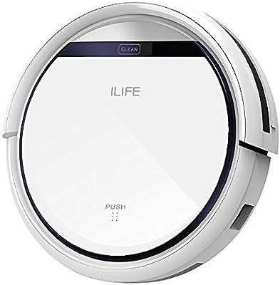 ILIFE V3s Pro Robot Aspirador de limpieza de hogar Robot, Auto-carga, Diseño para la limpieza de Pelos de Mascota