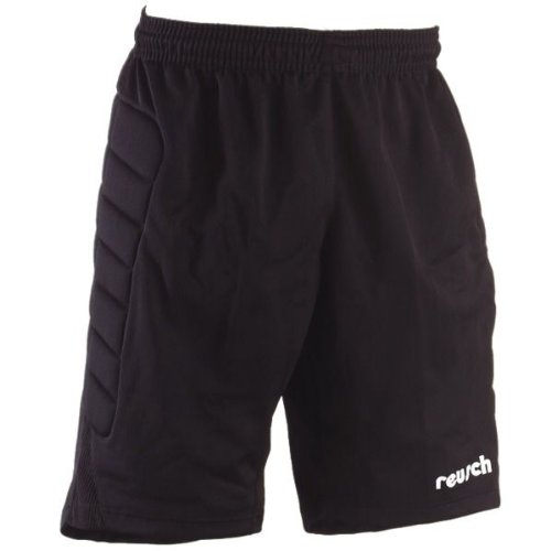 Reusch 1722001 Cotton Bowl Short - Youth Medium,Black