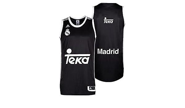 adidas Camiseta Real Madrid Basket 2ª 2014-15: Amazon.es: Deportes ...