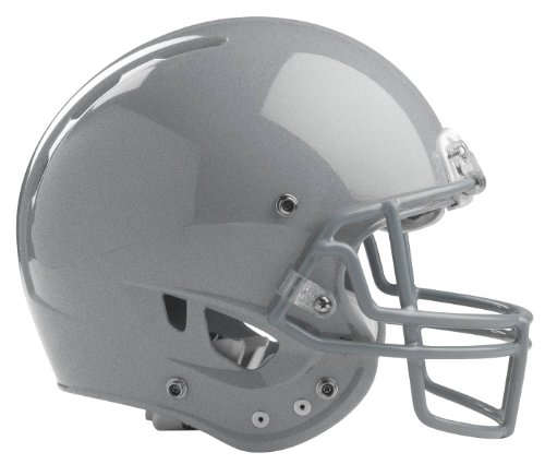 Rawlings Momentum Plus Football Helmet, X-Small, Silver Metallic