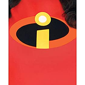 Costumes USA The Incredibles Mrs. Incredible Halloween Costume for Women, Disney, Plus Size (18-20), with Accessories