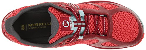 Red Merrell Blue Pace Damen Glove Light Outdoor Fitnessschuhe Rot 3 0g6a0