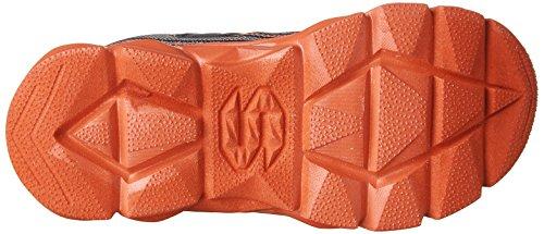 Skechers Advance-Hyper Tread, Zapatillas Para Niños Gris (Charcoal/red)