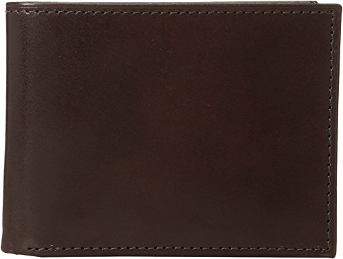 Johnston & Murphy Men's Slimfold Wallet Brown Smooth Leather One Size -
