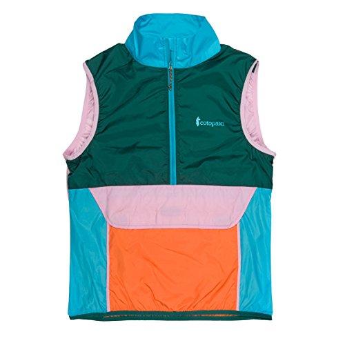 Cotopaxi Teca Vest - Packable Half Zip Windbreaker - Unisex - Lightweight Wind Resistant Vest