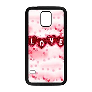 Painted Love Heart back phone Case cover samsung galaxy S5
