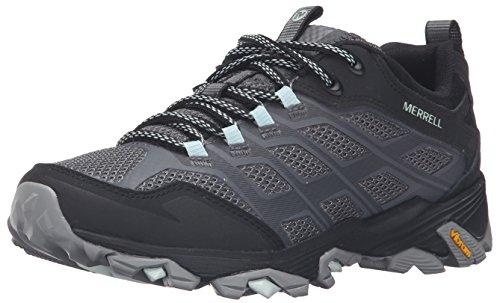 Merrell Women's Moab FST Hiking Shoe, Granite, 8 M US (Merrell Hiking Shoes Moab)