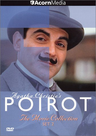 Poirot - The Movie Collection, Set 2 (Murder on the Links / Hickory Dickory Dock / Dumb Witness / Hercule Poirot's Christmas)