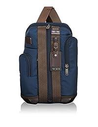 Tumi Alpha Bravo Saratoga Sling Messenger Bag, Navy, One Size