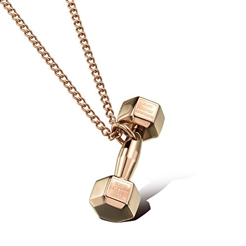 Richapex Dumbbell Fitness Necklace Pendant product image
