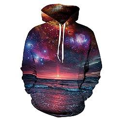 eljuyw Hoodies Sweatshirt 3D Hoodie Coat...
