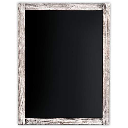 Wood Frame Chalkboard Magnetic Porcelain - Chalkboard | Magnetic, Non-Porous | Vintage