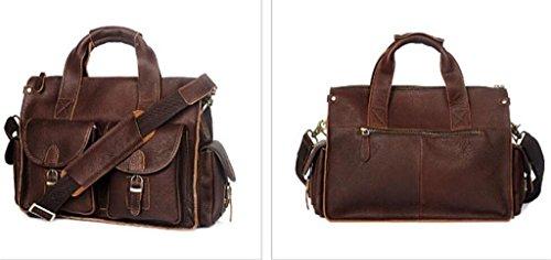 lavoro 1 Messenger Moda Tracolla In Vintage Shopping A 4 Pelle borsa borsa viaggio Uomo Borsa Hubaotai TqUBwHn