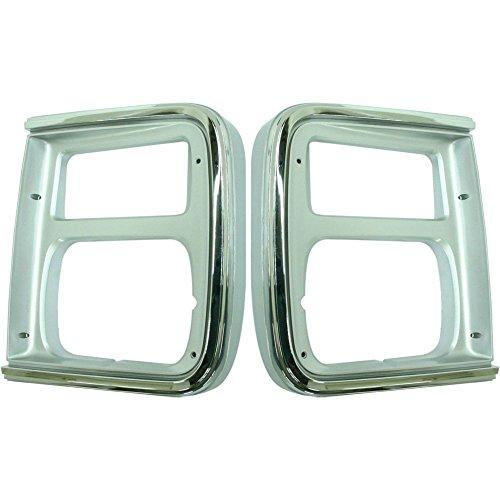 - Evan-Fischer EVA18972056914 Headlight Door for Chevrolet G20 85-91 RH and LH With parking light hole