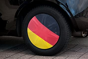 Fan Artikel 2er-Set Kfz-Kopfstützenbezüge Deutschland Sportfanprodukt