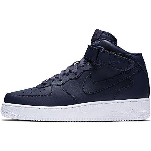 Nike Herren Air Force 1 Mid '07 Basketballschuh Obsidian / Obsidian-weiß