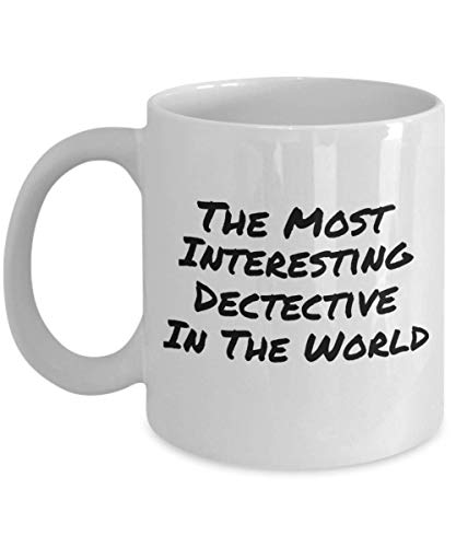 The Most Interesting Detective In The World Funny Coffee Cups & Mugs (Best Detective In The World)