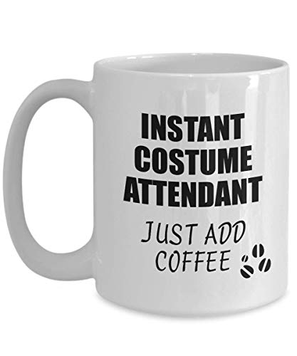 Costume Attendant Mug Instant Just Add Coffee