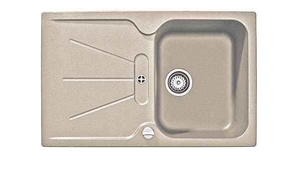 CARA 1C 1E Teka 94088552 BS Equipada fregadero 1 taz/ón 1 escurridor granito beige arena