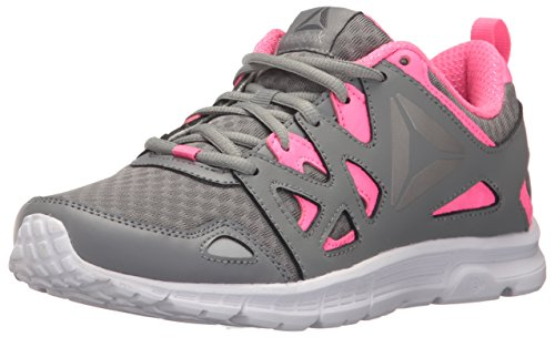 Reebok Women's Run Supreme 3.0 MT Track Shoe, Flint Grey/Solar Pink/Pewter/White, 7.5 M (Reebok Gym Equipment)