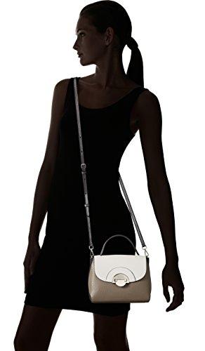 Bogner New Amy - Bolso de mano Mujer Mehrfarbig (black/morel/pearl)